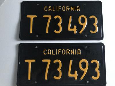 Picture of 1963 California Pair #T73493