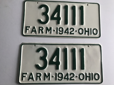 Picture of 1942 Ohio Pair #34111