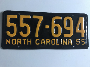 Picture of 1955 North Carolina Car #557-694