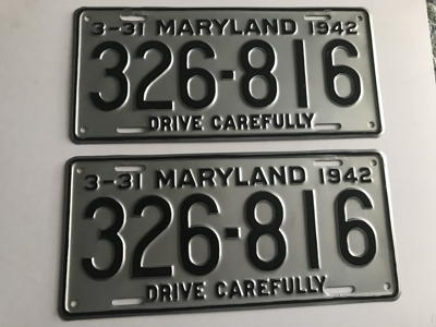 Picture of 1942 Maryland Car Pair #326-86