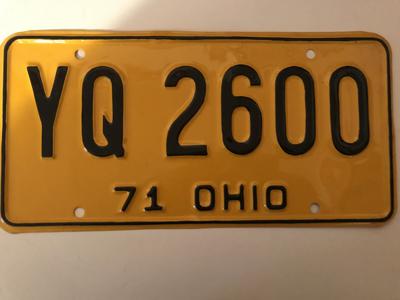 Picture of 1971 Ohio #YQ2600