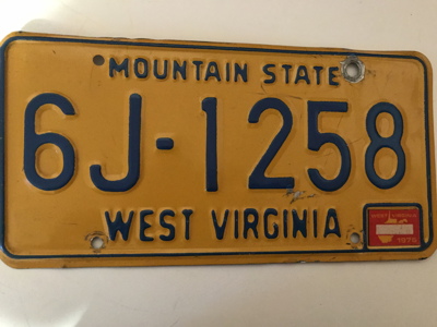 Picture of 1975 West Virginia #6J-1258