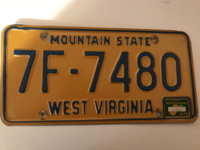 Picture of 1976 West Virginia #7F-7480