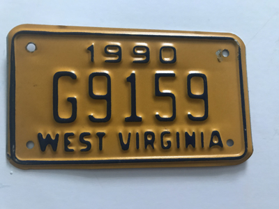 Picture of 1990 West Virginia #G9159