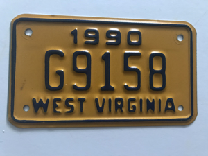 Picture of 1990 West Virginia #G9158