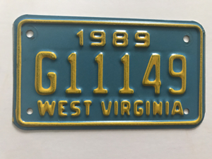 Picture of 1989 West Virginia #G11149