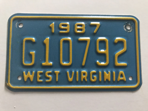 Picture of 1987 West Virginia #G10792