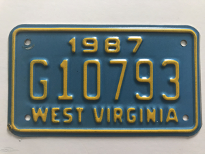 Picture of 1987 West Virginia #G10793