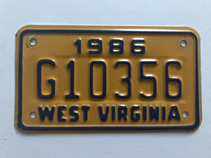 Picture of 1986 West Virginia #G10356