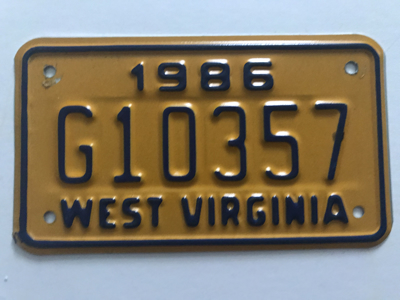 Picture of 1986 West Virginia #G10357