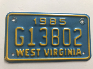 Picture of 1985 West Virginia #G13802