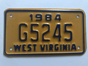 Picture of 1984 West Virginia #G5245