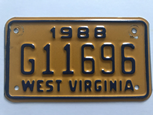 Picture of 1988 West Virginia #G11696