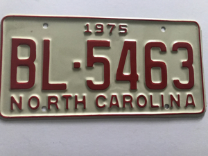Picture of 1975 North Carolina Car #BL-5463