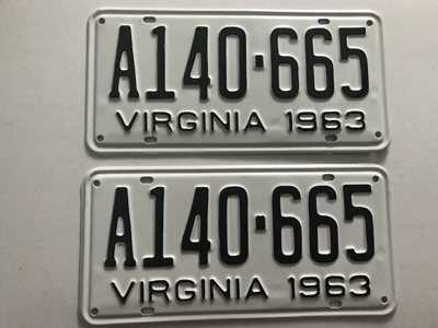 Picture of 1963 Virginia Car Pair #A140-665