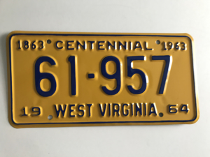 Picture of 1964 West Virginia #61-957