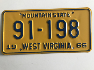 Picture of 1966 West Virginia #91-198