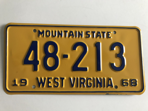 Picture of 1968 West Virginia 48-213