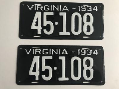 Picture of 1934 Virginia Car Pair #45-108