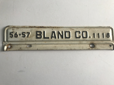Picture of 1956-57 Virginia Bland Co. Strip #1118