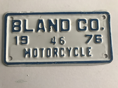 Picture of 1976 Bland Co. Motorcycle #46