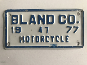 Picture of 1977 Bland County Motorcycle #47
