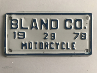 Picture of 1978 Bland County Motorcycle #28
