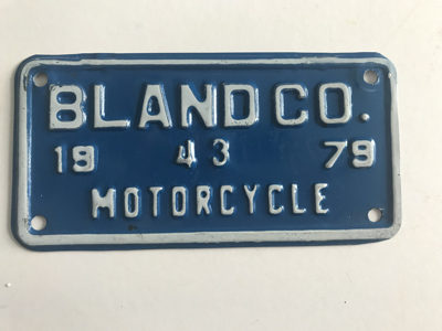 Picture of 1979 Bland County Motorcycle #43
