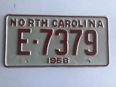 Picture of 1968 North Carolina Car #E-7379
