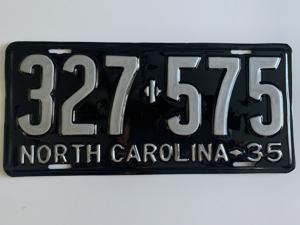Picture of 1935 North Carolina #327-575