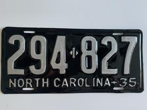 Picture of 1935 North Carolina Car #294-827
