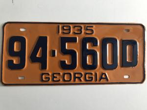 Picture of 1935 Georgia #94-560D