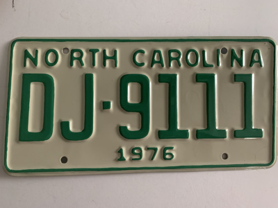 Picture of 1976 North Carolina Car #DJ-9111