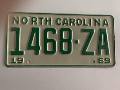 Picture of 1969 North Carolina Truck #1468-ZA