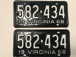 Picture of 1968 Virginia Car Pair #582-434