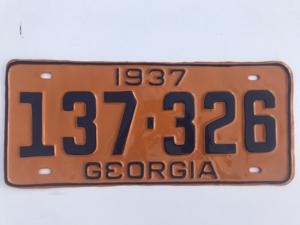 Picture of 1937 Georgia #137-326