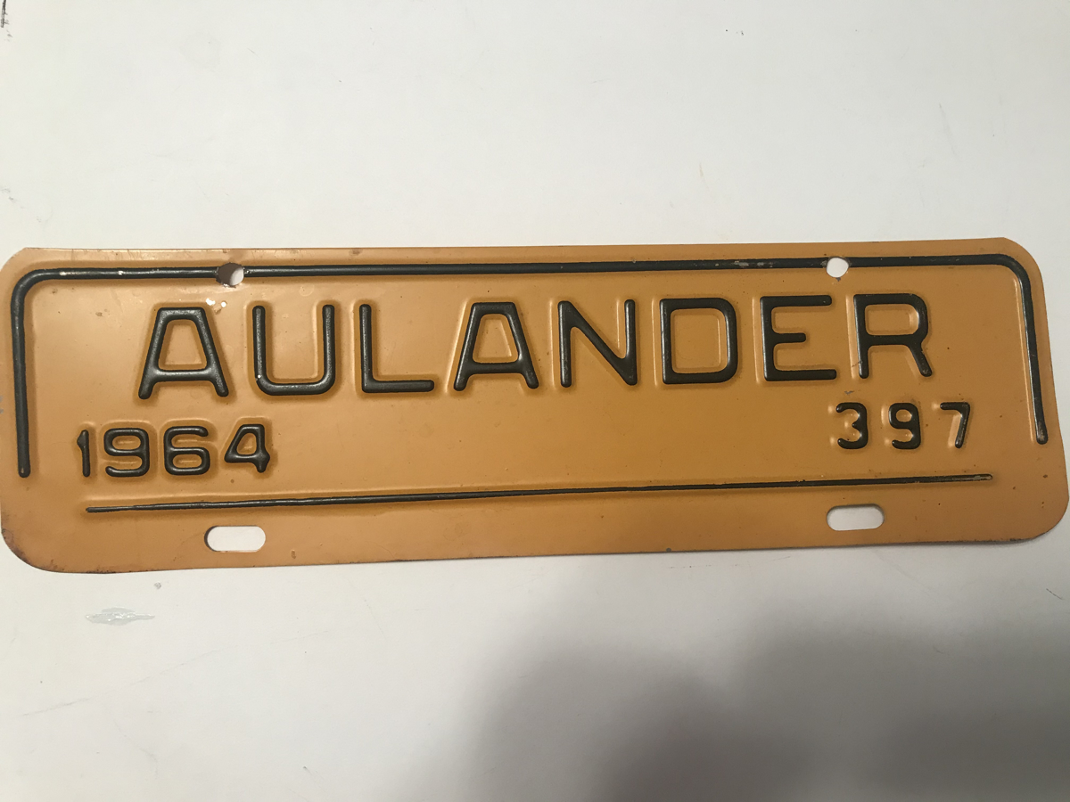 Picture of 1964 Aulander strip