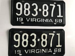Picture of 1968 Virginia Car Pair #983-871