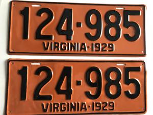 Picture of 1929 Virginia Car Pair #124-985