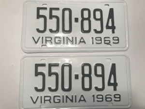 Picture of 1969 Virginia Car Pair #580-894