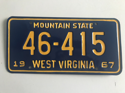 Picture of 1967 West Virginia #46-415