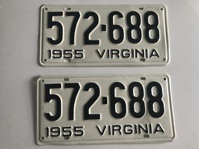 Picture of 1955 Virginia Car Pair #572-688