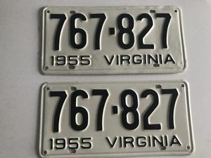 Picture of 1955 Virginia Car Pair #767-827