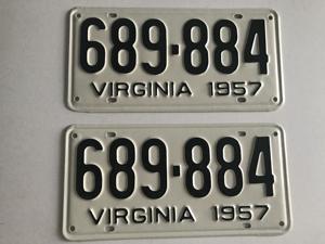 Picture of 1957 Virginia Car Pair #689-884