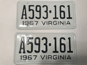 Picture of 1967 Virginia Car Pair #A593-161