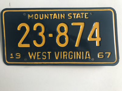 Picture of 1967 West Virginia #23-874