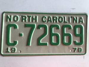 Picture of 1978 North Carolina #C72669
