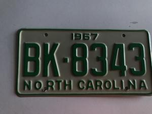 Picture of 1967 North Carolina #BK-8343
