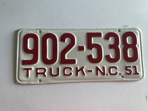 Picture of 1951 North Carolina Truck #902-538
